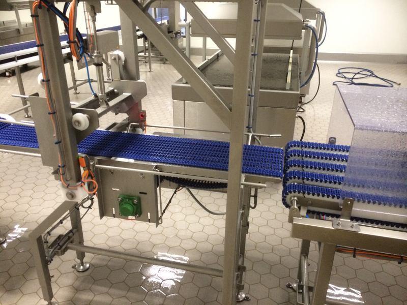 Reiniging en desinfecteren productielijn